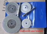 Wholesale 4xDiamond saw blades for diy Dremel Cutting pc Rotary Power Tools Kit dremel tools bits