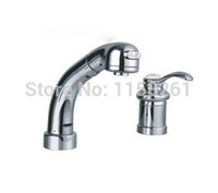 bamboo bathroom vanity - salon sink faucet bathroom tap mixer Chrome Finish Kitchen Swivel Faucet Vanity Brass Faucet water tap