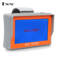 Wholesale quot AHD CVBS Analog Camera CCTV Security Tester LCD Monitor Video Audio Wrist strap P P P W V Output