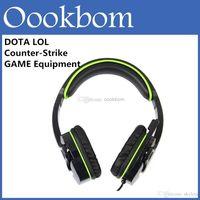 Mode E-Sport WCG WPC Sades SA-708 recommandée Gaming Headset Professional Computer casque pour PC jeu Dota 2 LOL CS Avec la boîte de détail