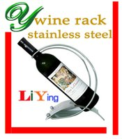 wine rack stainless steel - wine rack stainless steel wine bottle holder wine racks hanging stand holder craft modern brushed silver portable arc handle bar accessories