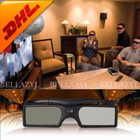 sony tv - FREE DHL High Quality New Bluetooth D Shutter Active Glasses for Samsung for Panasonic for Sony D TVs Universal TV D Glasses