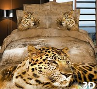 african print comforter - High Quality Bedclothes D African Animal Bedding Set King Queen PC Bed sheet PC Comforter Cover Pillow Covers