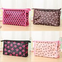 Wholesale fashion makeup bags Cosmetic bags Cases Square cosmetic bag organizer for women girls Valentine s Day gift hot DHL