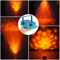 Wholesale Mini Water Wave Effect Stage Light For R G Xmas Party Laser Projector Stage Light DJ Disco Party Dance Show Orange color lighting