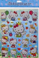 hello kitty stickers - sheet Hello Kitty STICKERS TOY BOX WALL STOCKING FILLER Random Shipping