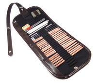 art charcoal pencils - Pro Sketch Pencils Charcoal Pencil Extender Paper Drawing Art Supply