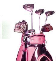 golf club set - top quality women s golf clubs set free EMS graphite steel shaft irons set golf sport products fashion women purple club irons