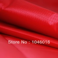 Wholesale Red Yard Wide x Yard long Light Coated Ripstop Nylon Fabric Material Waterproof WP Kite cloth Outdoor