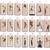 airs phone covers - 2015 New USA Basketball Star Air PC phone cases Matte clear Back Cover Cases for s s plus