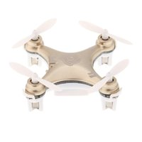 Wholesale New Cheerson CX A CX10A Mini Drone GHz CH RC Quadcopter Dron UFO with Headless Mode