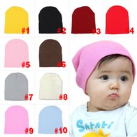 Wholesale Winter Unisex Boy s Girl s Korean Style Baby Wool Cap Comfort Keep Warm Wool Cap For Kids HB88