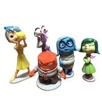 anime garage kits - 2016 Hot Christmas CM Figure Toys For Children Head Battle Mind team Inside Out Garage Kits Doll Car Ornaments