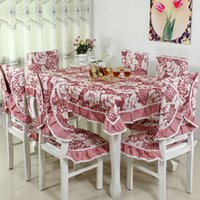 Wholesale Quilting quilting multicolor chairs backrest cushion pad suits and more suits with towels mice home cloth tablecloths