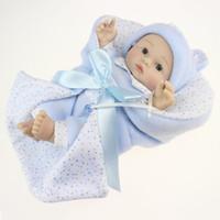 big babydoll - Lifelike Bebe Reborn Babydoll Full Vinyl Babies Dolls Fantasia infantile Kawaii Dolls Baby reborn Kids Bed Toys Sleeping Girls