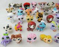 Wholesale Littlest Pet Shop Cute Animals Dolls PVC Action Figures children Collection Toys dolls Anime Scale Models Brinquedos Kids Toys