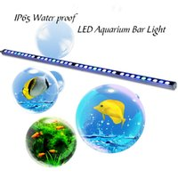 Wholesale Big discount Waterproof w led aquarium grow light bar white blue ip65 for reef coral fish tank stock in US DE
