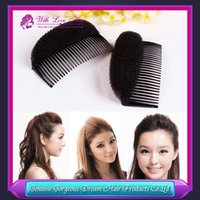 wig clips - Wig Pad Princess Head Fluffy Hair Maker Clips Sponge Fleabane Heighten Loose Hair Stick Mat High Quality Princess Hair Clip