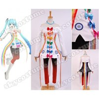 rainbow vacuum - Vocaloid Project DIVA F nd Miku Rainbow Women Girls Summer Dresses Cosplay Costume