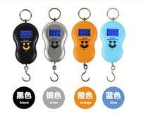 Cheap 40kg 10g Portable Electronic Digital Scale Hanging Fishing Fish Hook Pocket Weighing Balance LP012201