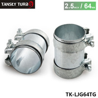 Wholesale TANSKY High Quality mm O D quot Inch Exhaust Connector Coupler Sleeve Adapter Pipe Tube Joiner TK LJG64TG