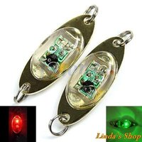 Wholesale LED Deep Drop Underwater Eye Shape Fishing Squid Fish Lure Light Flashing Lamp colors