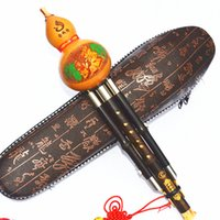 Wholesale Cucurbit C adjustable B flat tone plum buckle three tone detachable concert Yunnan Zizhu Hulusi instrument free postage