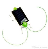 Wholesale Plastic Solar Energy Grasshopper Toy Best Electric Cricket For Kids Solar Education