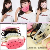 Wholesale New Mixed Stylish Korean Bowknot Winter Warmmer Adult Couple Mask Face Dust Mask