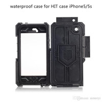 anti shock camera - Luxury HITCase Pro Waterproof Case For iPhone s Hot Wide angle Camera Lens Go Pro Waterproof Anti Shock Drop Resistance Hit case
