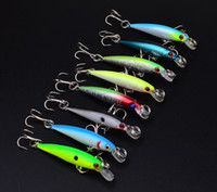 Wholesale 8pcs High Quality Fishing Lures Crank Bait Crankbaits Isca Artificial Tackle Jigging Lure cm g