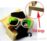 wood eyewear - LOGO Engraved Available Wood Sunglasses Designer Natural Bamboo Sunglass Eyewear Glasses brand sunglasses