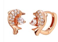 Wholesale gold silver circle lady s earings CM sp3658 wrwr