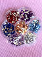 Wholesale mm Mix Color rhinestone Beautiful decoration and DIY Garment Accessories