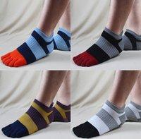 men five fingers socks - Summer Men s Outdoor Socks Mesh Sports Patchwork Jogging Running Five Finger Toe Cotton Socks Breathable Ankle Socks for Men
