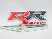 automotive grille - Exterior Accessories Car Stickers D RR logo Chrome metal Car front Badge Auto Grille emblem accessories Standard Automotive Network styling