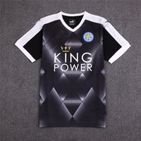 away jersey color - Thailand Quality Soccer Leicester City jerseys Away Black Color camiseta de futbol survetement football shirt