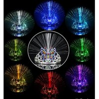 Wholesale LED Crown Color Changing Hair Band Crown Tiara Headband LED Toys Halloween Gift Fit Both Adults Kids Party Crown Luminous LJJE309 PC