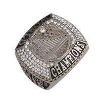 2015 Campeón de Golden State Anillos Mundo Campeonato Nacional de Baloncesto Anillos Hombres Joyería Classic Collection Joyería J02083