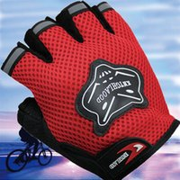 Wholesale Men Women Fashion Sport Gym Gloves Weight Lifting Fingerless Half Finger Gloves Bike Motorcycle Anti Slip Gloves Tactical
