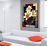 Cheap 1 Pieces Modern Canvas Painting Flowers Home Decoration Wall Art HD Picture Paint on Canvas Prints