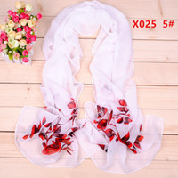 Plain animal scarf patterns - 2016 New Zebra pattern chiffon long silk scarves cm DHL X025c Sales Paisley scarf Fashion design