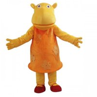 backyardigans animals - Factory Outlets Hot Sale The PROFESSION TASHA BACKYARDIGANS Halloween Fancy Dress Cartoon Adult Animal Mascot Costume