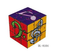 Wholesale new music note magic cube educational toy music gift magic cube