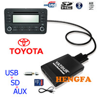 aux toyota - Yatour Car Digital Music Changer USB MP3 AUX adapter For Toyota Lexus Scion small pin models yt m06