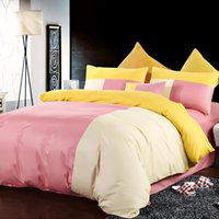 Wholesale 3 spell color for family bedroom Reactive better mood styles bedding sets reactive printed bedcover set king queen full size Sheet