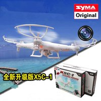 4ch - 2015 Toys Gifts Hot Original G CH Axis SYMA X5C Upgrade X5C Toys RC Helicopter with MP HD Camera Quadrocopter Drone camera