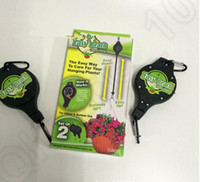 Wholesale 1set Easy Reach Plant Pulley Retractable Pulley Garden Plant Baskets Hanging Basket Pull Down Hanger KKA34 sets