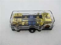 Wholesale Thermal Cooker Real Fuse Automotive New Quality Gold Plated Auto Car Afs Power Fuse Holder Black fs