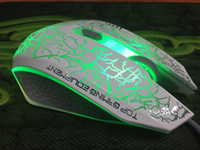 mouse usb - Retail Universal MOBA Gaming Mouse Ruima Wrangler Optical USB Adjustable DPI WOW LOL DOTA2 DNF Gaming Mouse
